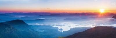 Adams Peak (Sri Pada) View at Sunrise by Matthew Williams-Ellis