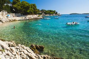 Adriatic Sea, Hvar Island, Dalmatian Coast, Croatia, Europe by Matthew Williams-Ellis