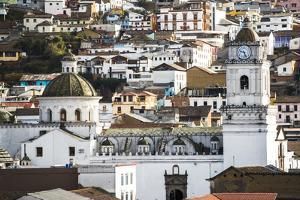 Architectural Details at the Old City of Quito, UNESCO World Heritage Site, Ecuador, South America by Matthew Williams-Ellis