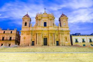 Baroque St. Nicholas Cathedral (Noto Cathedral) by Matthew Williams-Ellis
