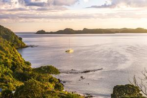 Bay of Islands at Sunrise, Seen from Russell, Northland Region, North Island, New Zealand, Pacific by Matthew Williams-Ellis