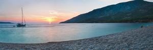Brac Island, Zlatni Rat Beach at Sunset, Bol, Dalmatian Coast, Adriatic, Croatia, Europe by Matthew Williams-Ellis