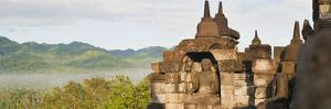 Buddha Panorama, Borobudur Temple, UNESCO World Heritage Site, Java, Indonesia, Southeast Asia by Matthew Williams-Ellis