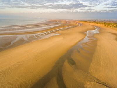 Camber Sands Beach at sunrise, Camber, near Rye, East Sussex, England, United Kingdom, Europe by Matthew Williams-Ellis