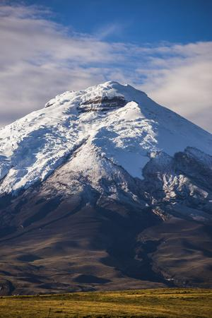 Cotopaxi Volcano Glacier Covered 5897M Summit, Cotopaxi National Park, Cotopaxi Province, Ecuador