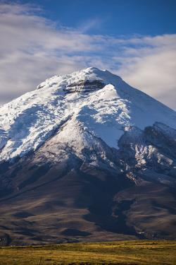 Cotopaxi Volcano Glacier Covered 5897M Summit, Cotopaxi National Park, Cotopaxi Province, Ecuador by Matthew Williams-Ellis