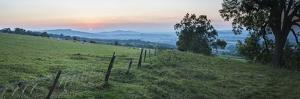 Cotswold Hills at Sunset, Winchcombe, Gloucestershire, the Cotswolds, England by Matthew Williams-Ellis