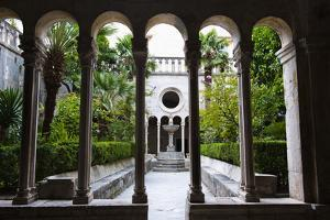 Courtyard Inside Franciscan Monastery-Museum by Matthew Williams-Ellis