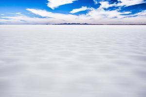Driving Through Uyuni Salt Flats (Salar De Uyuni), Uyuni, Bolivia, South America by Matthew Williams-Ellis