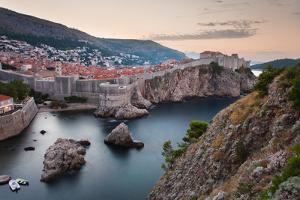 Dubrovnik and the City Walls at Sunrise by Matthew Williams-Ellis