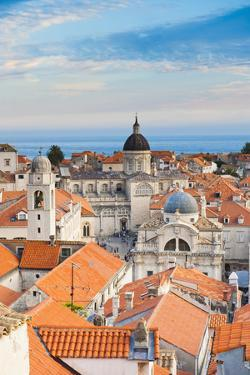 Dubrovnik Cathedral (Cathedral of the Assumption of the Virgin Mary) by Matthew Williams-Ellis