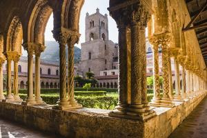 Duomo Di Monreale at Sunset (Monreale Cathedral) by Matthew Williams-Ellis