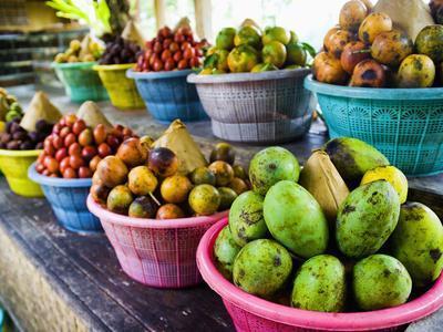 Exotic Fruits at a Tropical Fruit Farm, Bali, Indonesia, Southeast Asia, Asia