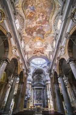 Frescoes on the Ceiling at the Church of San Matteo by Matthew Williams-Ellis