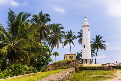 Galle Lighthouse in the Old Town of Galle, UNESCO World Heritage Site, Sri Lanka, Asia by Matthew Williams-Ellis