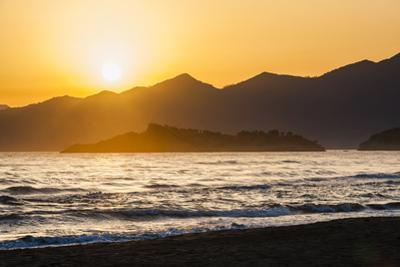 Iztuzu Beach at sunset, Dalyan, Mugla Province, Anatolia, Turkey, Asia Minor, Eurasia by Matthew Williams-Ellis