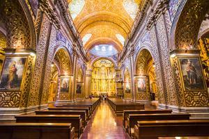 La Iglesia De La Compania De Jesus, City of Quito, Ecuador, South America by Matthew Williams-Ellis