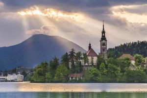 Lake Bled Sunrise Landscape by Matthew Williams-Ellis