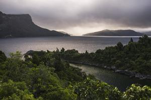 Lake Waikaremoana, Te Urewera, Eastland, North Island, New Zealand, Pacific by Matthew Williams-Ellis