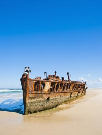 Maheno Shipwreck, Fraser Island, UNESCO World Heritage Site, Queensland, Australia, Pacific by Matthew Williams-Ellis