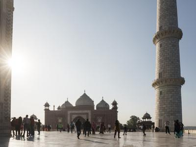 Mosque in the Taj Mahal Complex, UNESCO World Heritage Site, Agra, Uttar Pradesh, India, Asia by Matthew Williams-Ellis