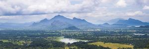 Mountain Landscape, Taken from the Top of Sigiriya Rock Fortress (Lion Rock), Sri Lanka, Asia by Matthew Williams-Ellis
