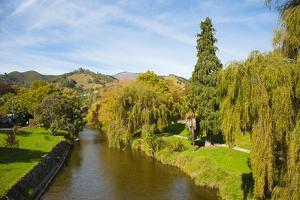 Nelson Town Centre, Nelson, South Island, New Zealand, Pacific by Matthew Williams-Ellis