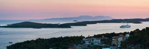 Pakleni Islands (Paklinski Islands) and Vis Island by Matthew Williams-Ellis