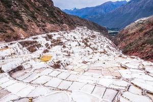 Salt Pans (Salinas De Maras), Maras, Near Cusco (Cuzco), Peru, South America by Matthew Williams-Ellis