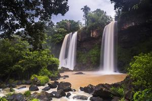 Salto Dos Hermanos (Two Brothers Waterfall), Misiones Province, Argentina by Matthew Williams-Ellis