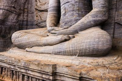 Seated Buddha in Meditation by Matthew Williams-Ellis