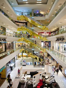 Shopping Centre, Orchard Road, Singapore, Southeast Asia, Asia by Matthew Williams-Ellis