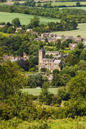St. Peter and St. Paul Church in Blockley, a Traditional Village in the Cotswolds, Gloucestershire