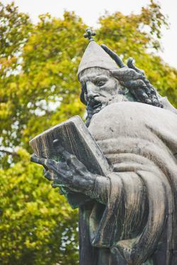 Statue of Gregory of Nin (Grgur Ninski Statue), Split, Dalmatia, Croatia, Europe by Matthew Williams-Ellis
