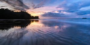 Sunrise at Playa Arco Beach, Uvita, Marino Ballena National Park, Costa Rica by Matthew Williams-Ellis