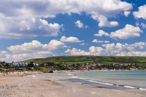 Swanage Beach, Dorset, Jurassic Coast, England, United Kingdom, Europe by Matthew Williams-Ellis