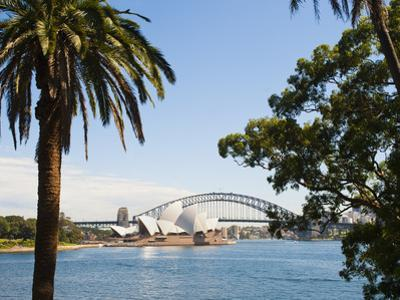 Sydney Opera House, UNESCO World Heritage Site, and Sydney Harbour Bridge, Sydney, Australia by Matthew Williams-Ellis
