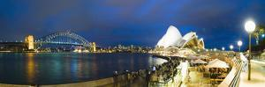 Sydney Opera House, UNESCO World Heritage Site, Harbour Bridge, Sydney Harbour, Australia by Matthew Williams-Ellis