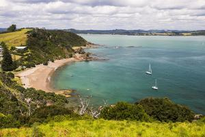 Tapeka Beach Seen from Tapeka Point, a Popular Walk in Russell, Bay of Islands by Matthew Williams-Ellis