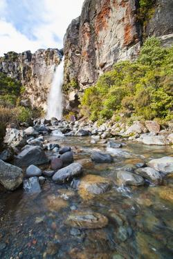 Taranaki Falls by Matthew Williams-Ellis