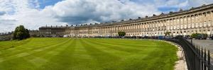 The Royal Crescent, Bath, Avon and Somerset, England, United Kingdom, Europe by Matthew Williams-Ellis