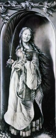 Saint Lucy, 1509-1511 by Matthias Grünewald