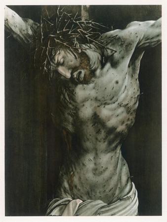 The Dying Jesus by Matthias Grünewald