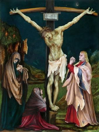 The Small Crucifixion by Matthias Grünewald
