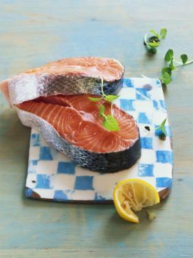 Two Salmon Cutlets by Matthias Hoffmann