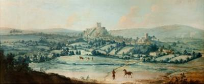 Distant View of Clitheroe, C.1730