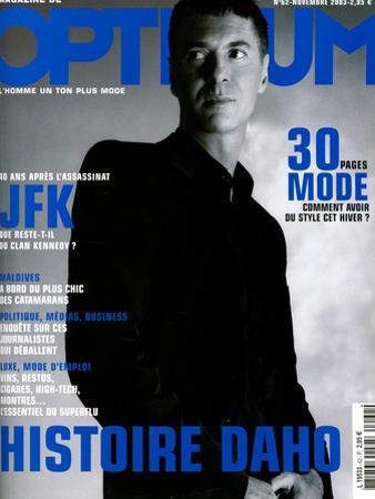 L'Optimum, November 2003 - etienne Daho, en Total Look Hedi Slimane pour Dior by Matthias Vriens