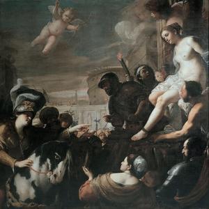 Clorinda Rescues Olindo and Sophronia, 1645 by Mattia Preti