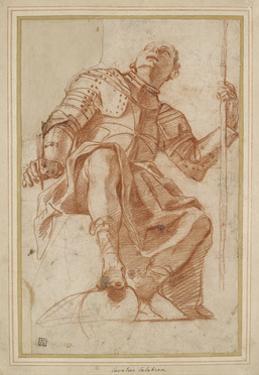 Study for a Knight of Malta by Mattia Preti