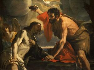 The Baptism of Christ by Mattia Preti